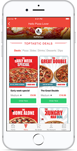 Pizza Delivery Takeaway And Deals In Staines Order Online